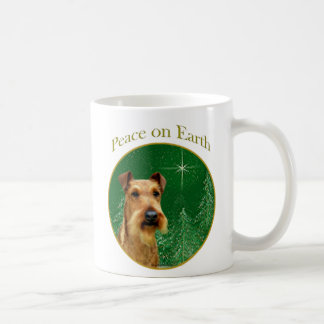 Irish Terrier Peace Coffee Mug