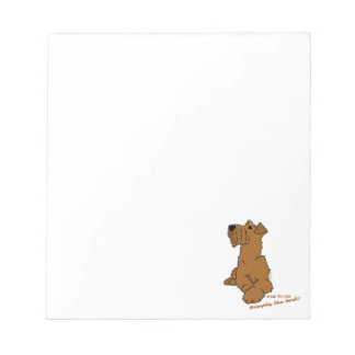 Irish Terrier - Simply the best! Notepad