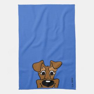 Irish Terrier Smile Hand Towel