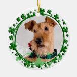 Irish Terrier St. Patrick's Day Ornament