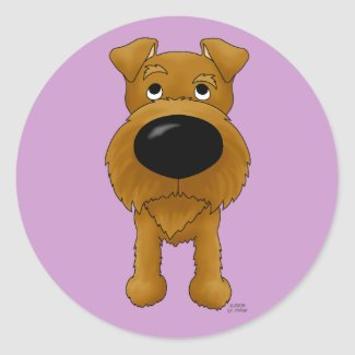 Irish-Terrier Stickers sticker