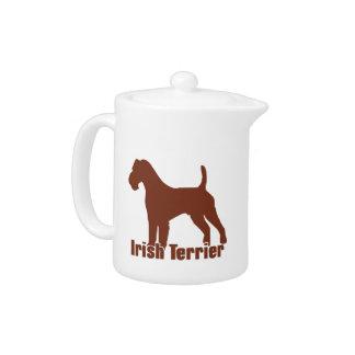 Irish Terrier Teapot