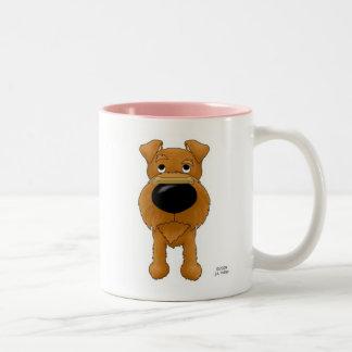 Irish Terrier Valentine Two-Tone Coffee Mug