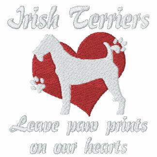 Irish Terriers Leave Paw Prints