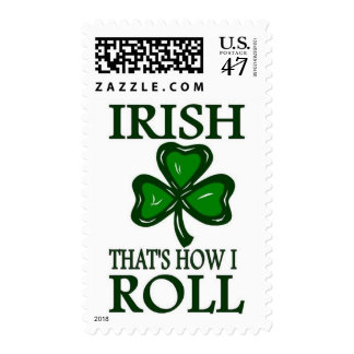 Irish That's How I roll Postage