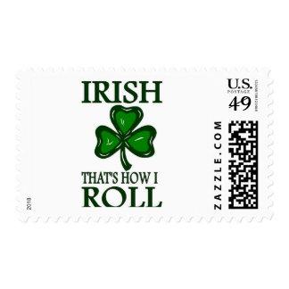 Irish That's How I roll Stamp