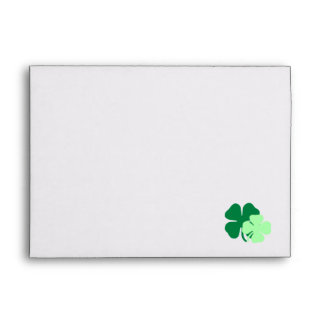 Irish Themed Baby Shower Envelopes