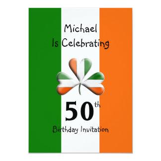Irish Themed Celebration Party Invitations