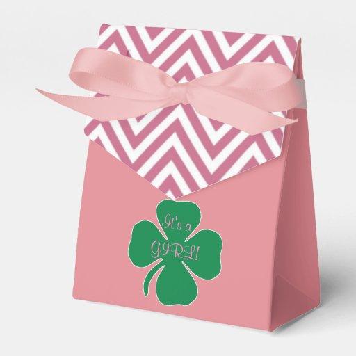 Baby Gift Boxes Ireland : Irish themed girl baby shower favor box zazzle