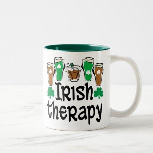 Irish Therapy Two-Tone Coffee Mug