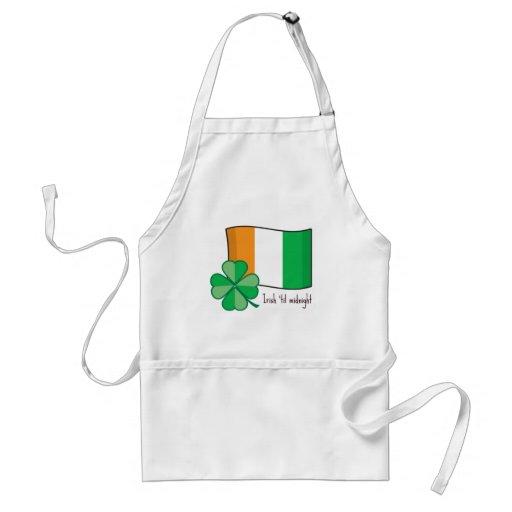 Irish Til Midnight Adult Apron