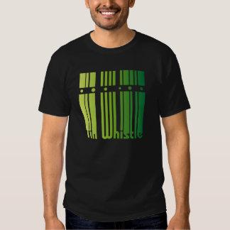 Irish Tin Whistle - green logo Shirt