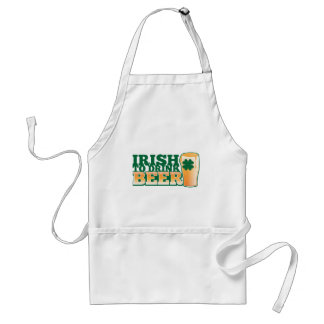 Irish to DRINK BEER! from The Beer Shop Adult Apron