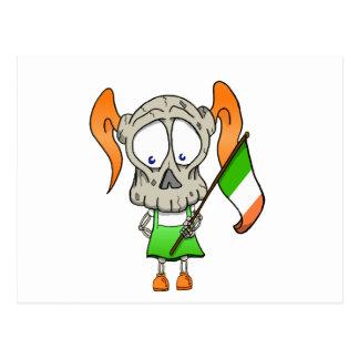 Irish to the Bone Postcard