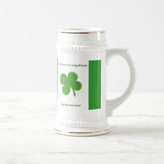 Irish Toast 18 Oz Beer Stein