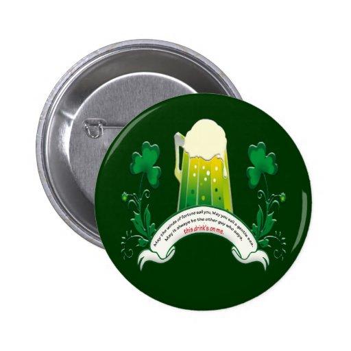 Irish Toast Button