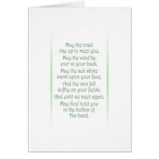 Irish Toast Card