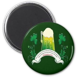 Irish Toast Magnet
