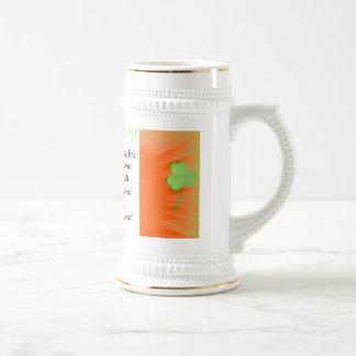 Irish Toast Stein Mug