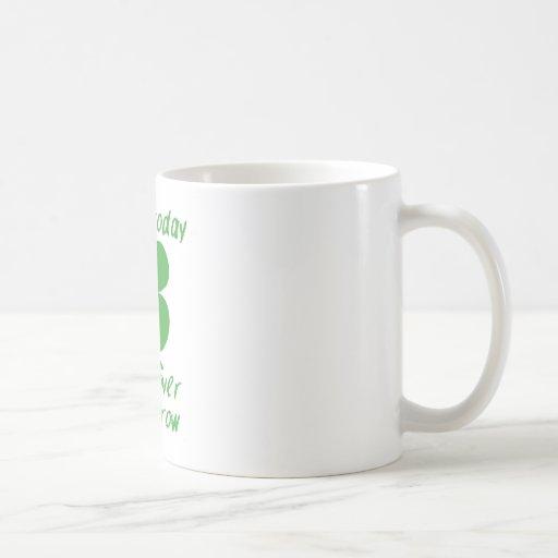 Irish Today Hung Over Tomorrow Classic White Coffee Mug