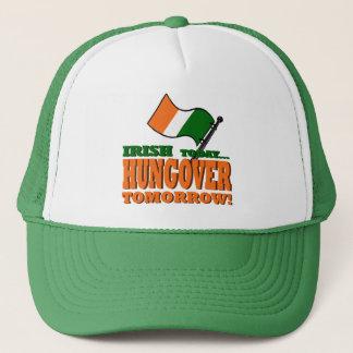 Irish Today Hung-over Tomorrow Hat