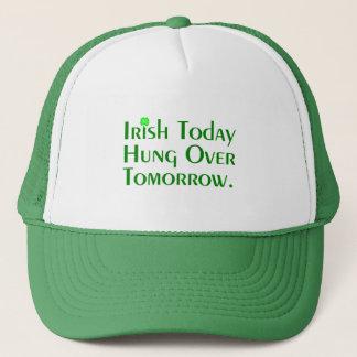 Irish Today Hung Over Tomorrow. Trucker Hat