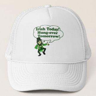 Irish Today Hung-over Tomorrow Trucker Hat