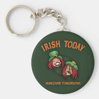 Irish Today -w Keychain