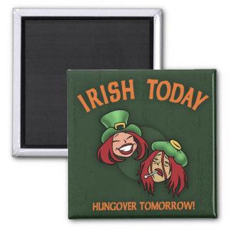 Irish Today -w Magnet