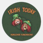 Irish Today -w Sticker