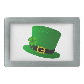 Irish Top Hat Rectangular Belt Buckles