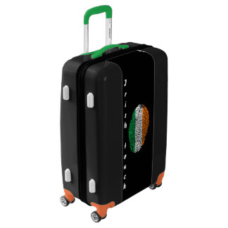 Irish touch fingerprint flag luggage