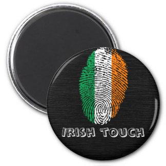 Irish touch fingerprint flag magnet