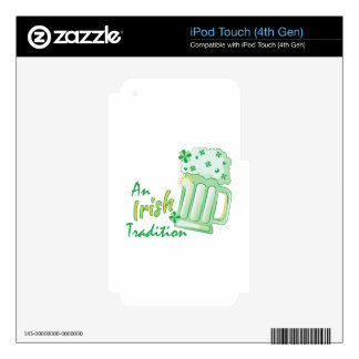 Irish Tradition iPod Touch 4G Decals