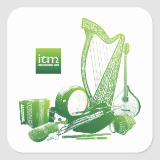 Irish Traditional Music sticker