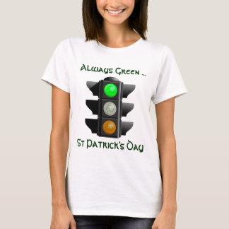 Irish Traffic Light T Shirt