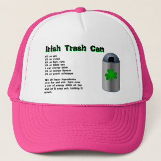 Irish Trash Can Drink Recipe Trucker Hat