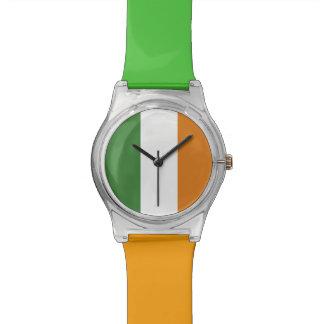 Irish Tri Color Flag Watches