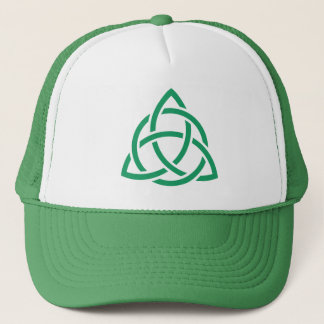 Irish Trinity Knot Triquetra Celtic Patricks Day Trucker Hat