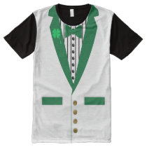 irish tuxedo All-Over-Print shirt