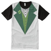 irish tuxedo All-Over-Print T-Shirt