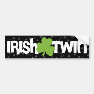 Irish Twin Bumper Sticker