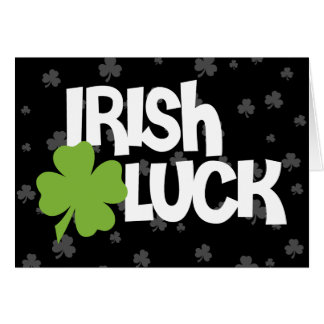 Irish Twin Card