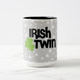 Irish Twin Coffee Mugs