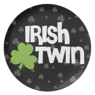 Irish Twin Dinner Plates