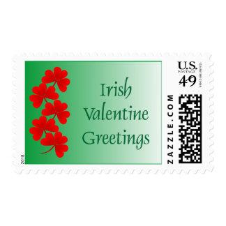 Irish Valentine Greetings Stamp