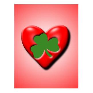 Irish Valentine Postcard