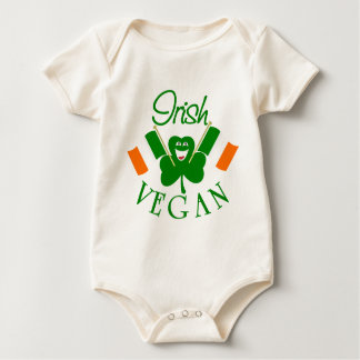 Irish Vegan Baby Baby Bodysuit