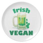Irish Vegan Party Plates