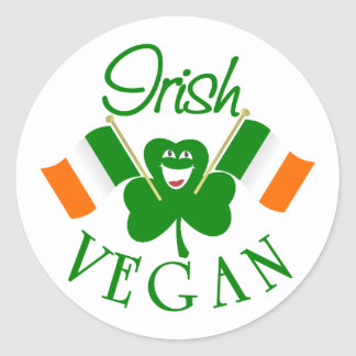 Irish Vegan Stickers